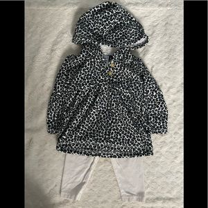 Baby Girl Cheetah Outfit